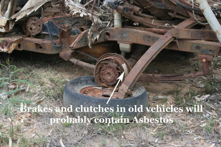 Brakes and Clutches in Old Vehicles