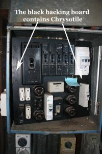 Electrical Switchboard Backing
