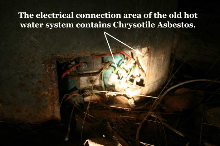 Electrical Connections to Old HWS