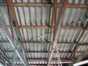Super Six Roof Sheeting Contains Asbestos
